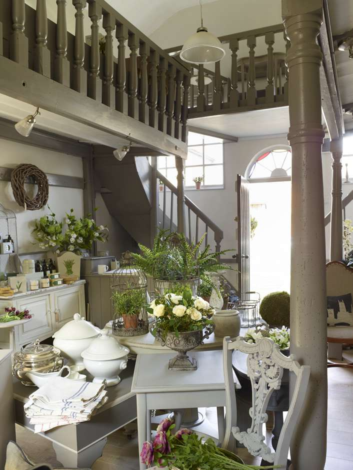 The Garden Room in the Chapel – Antique Furniture Showroom